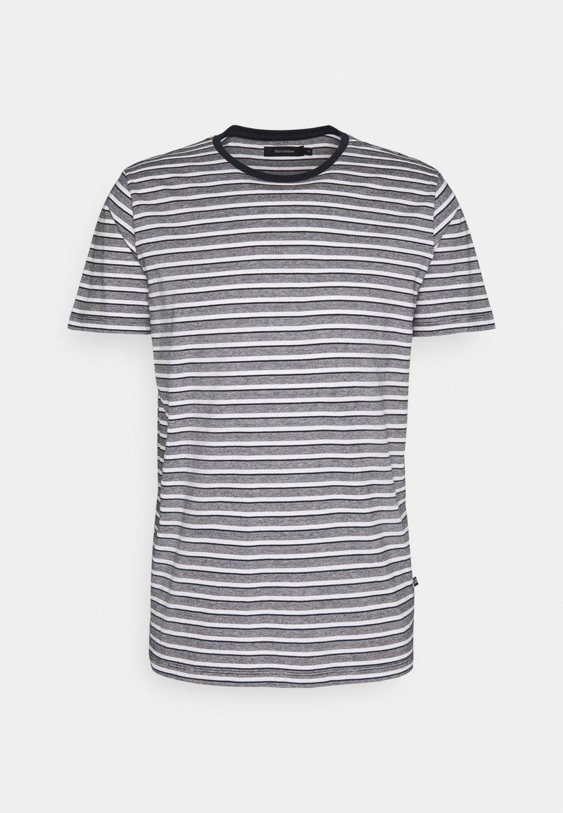 Matinique - JERMANE - Print T-shirt - dark navy