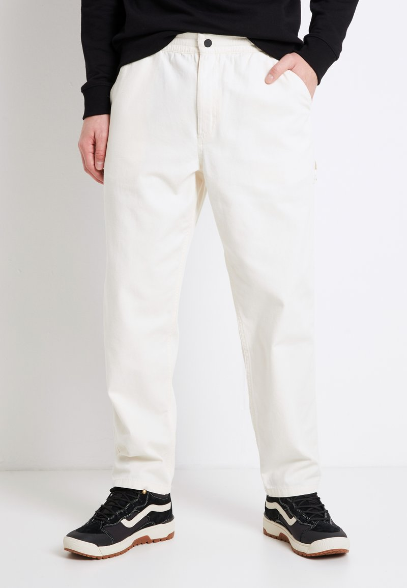 Vans - MN MUNICIPLE PANT - Trousers - antique white