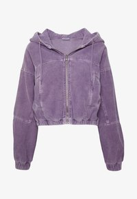 BDG Urban Outfitters - HOODED JACKET - Bomber Jacket - lilac - 3