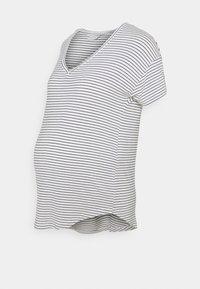 MAMALICIOUS - MLALISON MIX 2 PACK - T-shirt z nadrukiem - navy blazer/snow white - 3