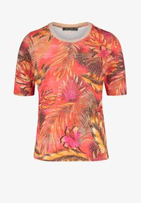 Betty Barclay - Print T-shirt - red/camel - 3