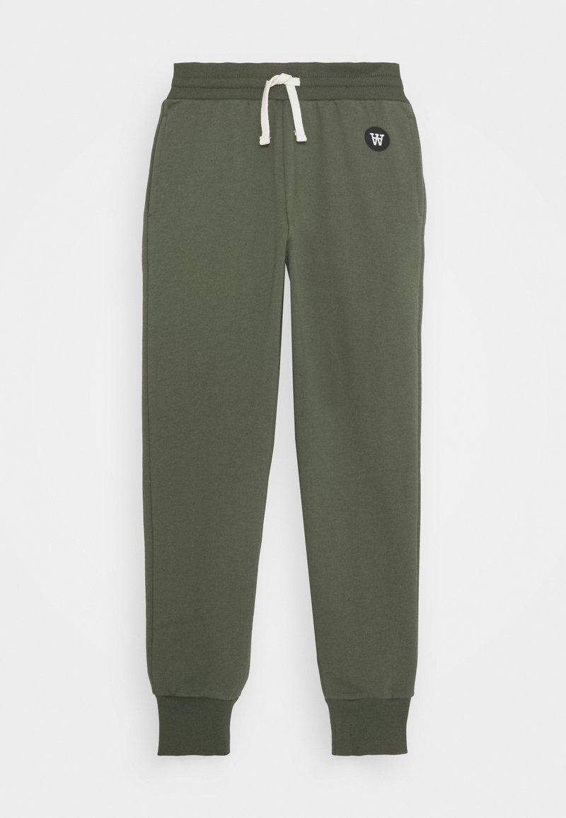 Wood Wood - RAN KIDS TROUSERS - Pantalones deportivos - army green