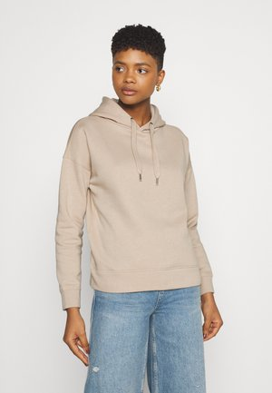 JDYLINE LIFE HOOD - Jersey con capucha - simply taupe