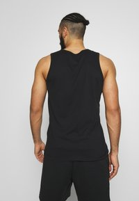 Nike Performance - DRY TANK SOLID - Camiseta de deporte - black /white - 2