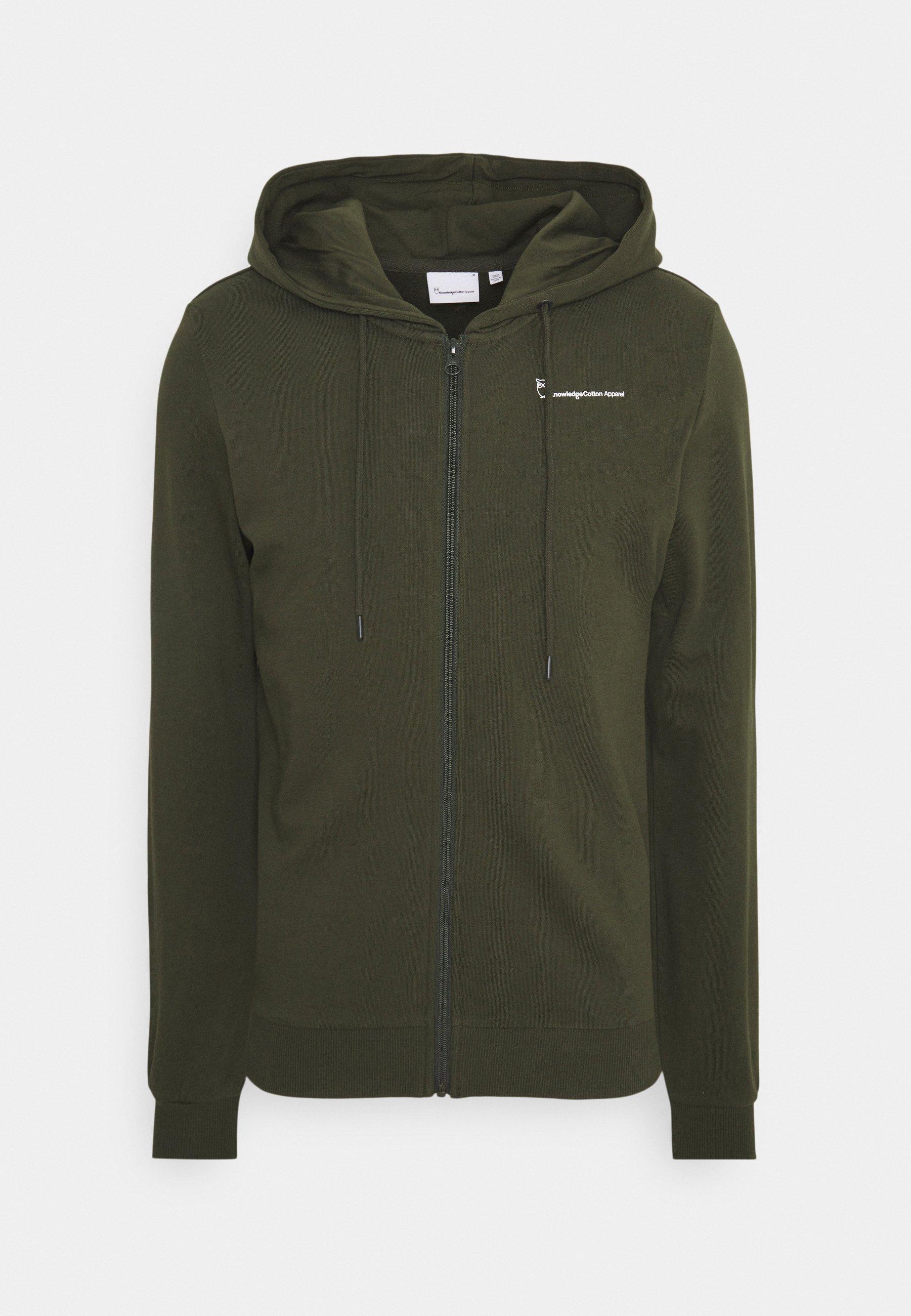 Men TRANSFER HOOD ZIP - Zip-up sweatshirt