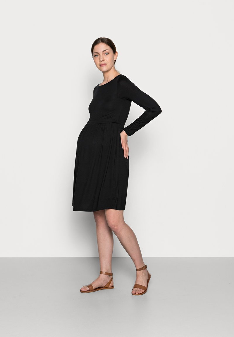Anna Field MAMA - NURSING - Jersey Dress - Sukienka z dżerseju - black