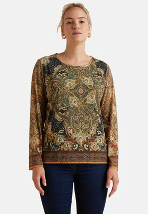 MAGLIETTA A MANICA LUNGA - Long sleeved top - blu