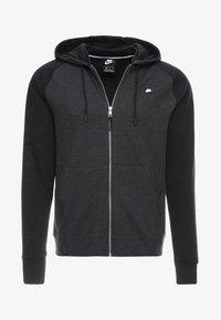 Nike Sportswear - OPTIC HOODIE - Zip-up hoodie - black - 4