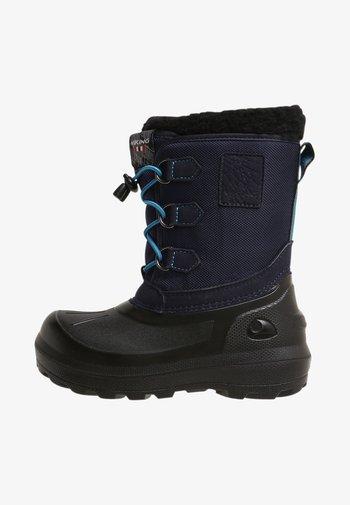 ISTIND - Winter boots - mid blue/black