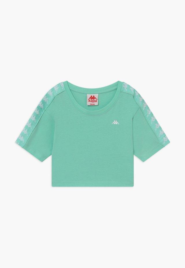GLANDA - Camiseta estampada - mint