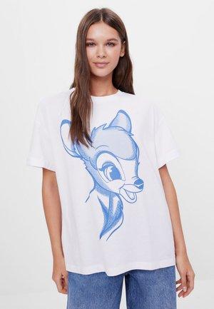 DISNEY'S BAMBI - Print T-shirt - white