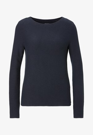 LONG SLEEVE - Strickpullover - blue