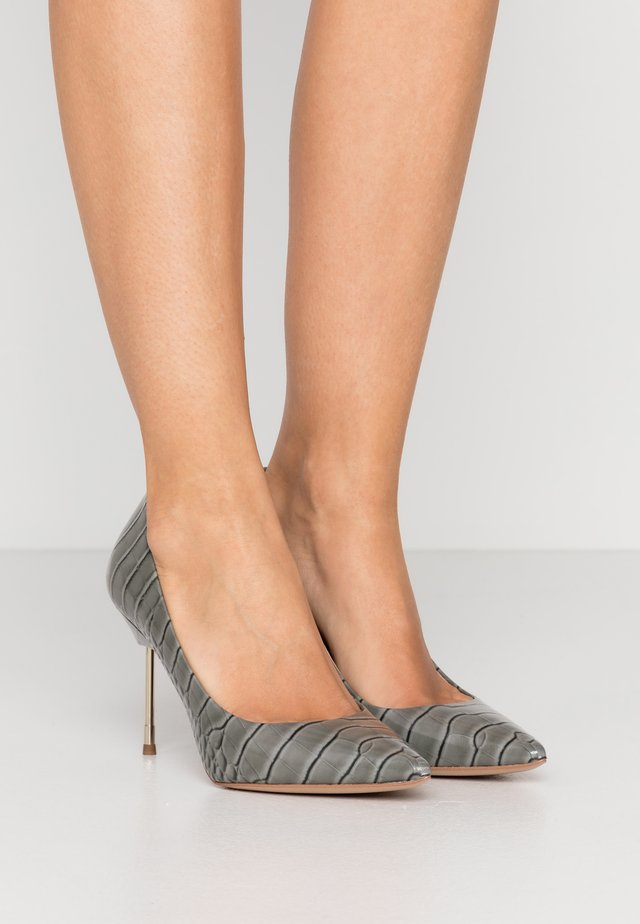 BRITTON - High heels - grey/light