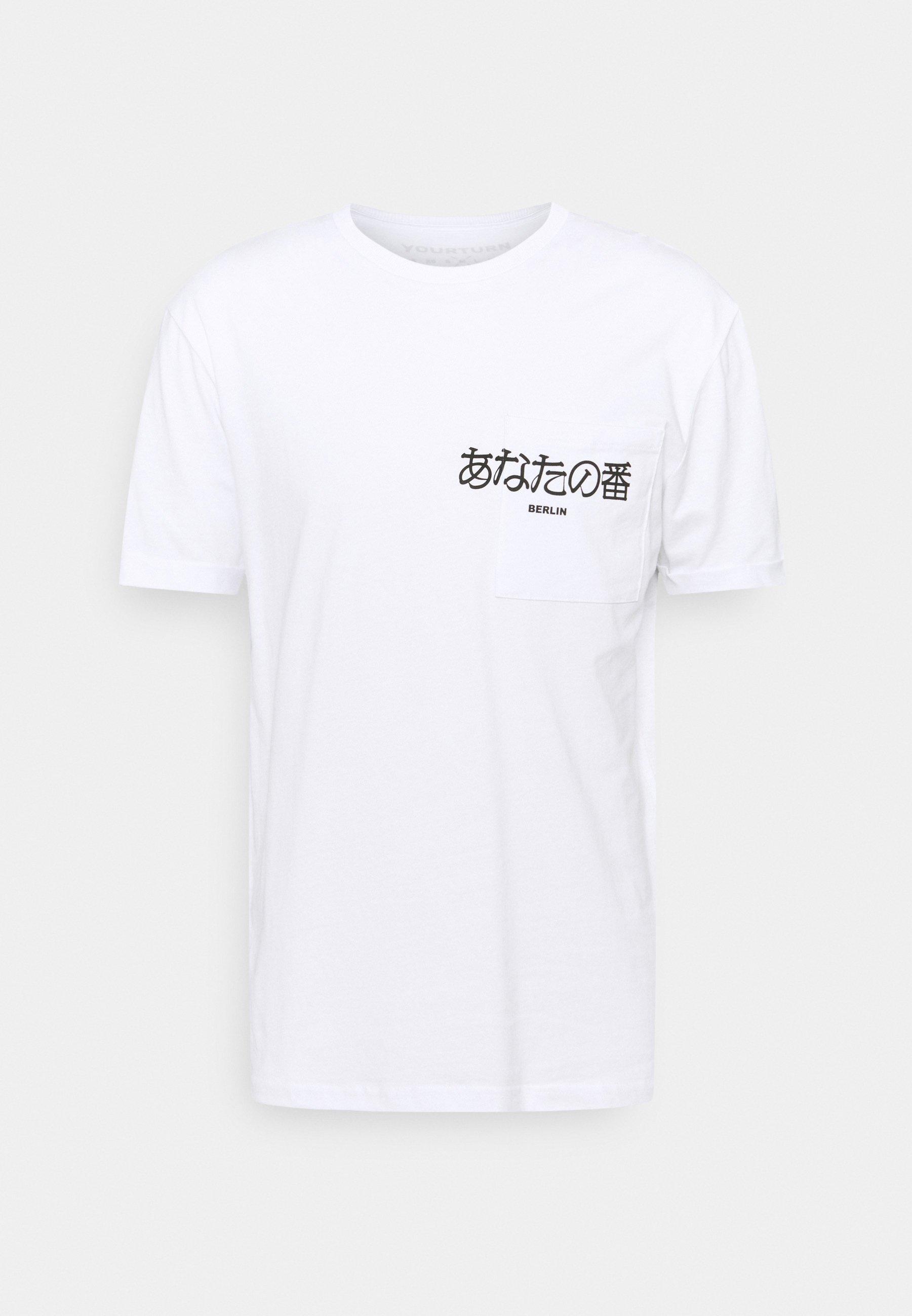 Damen POCKET - T-Shirt print