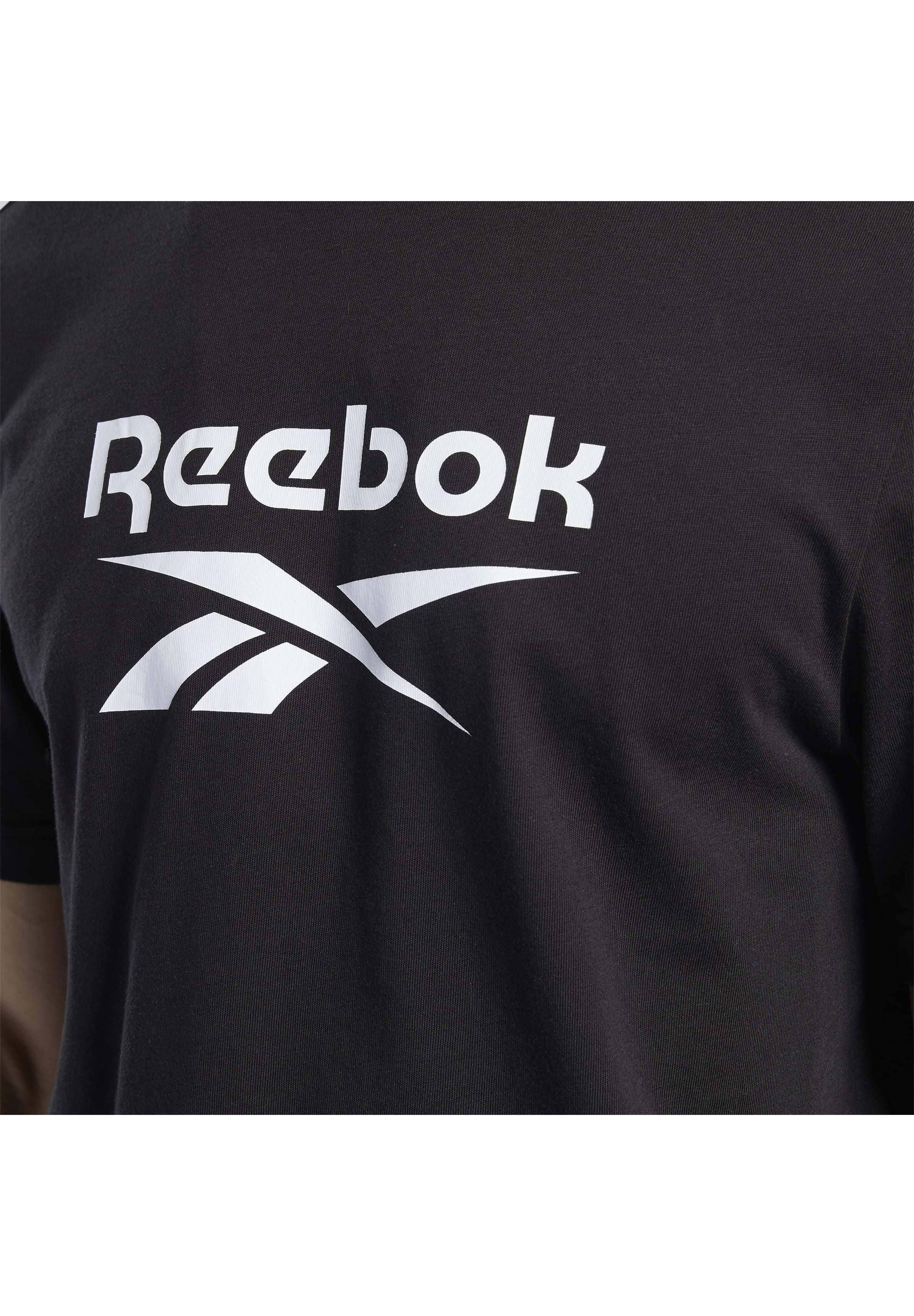 Reebok Classic Classics Vector T-shirt - T-shirts Med Print Black/svart