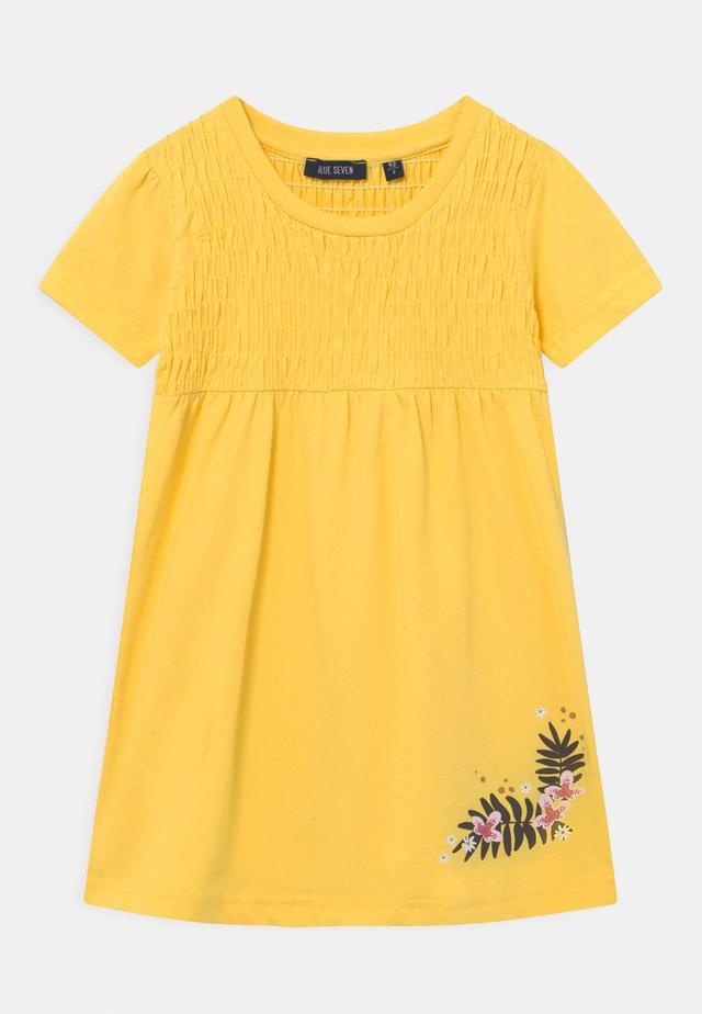 SMALL GIRLS FLOWER - Jersey dress - stroh