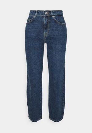SLFLYDA CROPPED INKY - Straight leg jeans - medium blue