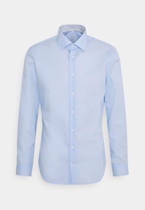 BUSINESS KENT PATCH - Camicia elegante - blue