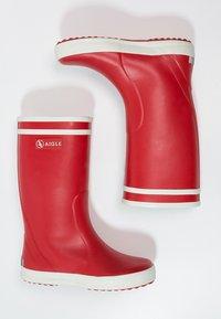 Aigle - LOLLY POP - Botas de agua - rouge - 1