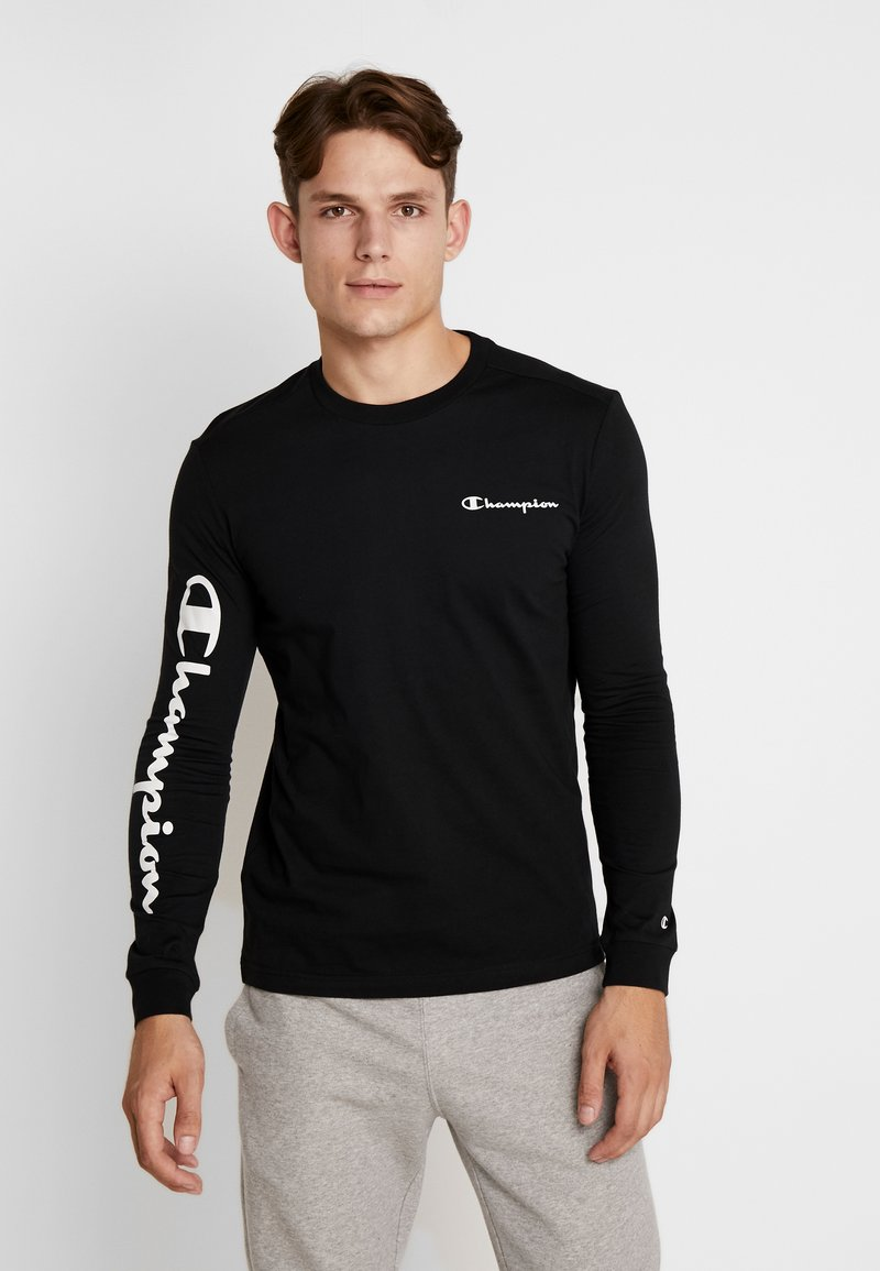 Champion - LONG SLEEVE - Top s dlouhým rukávem - black