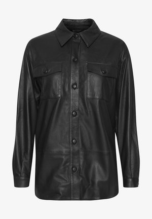 IHYOHANNA SH - Button-down blouse - black
