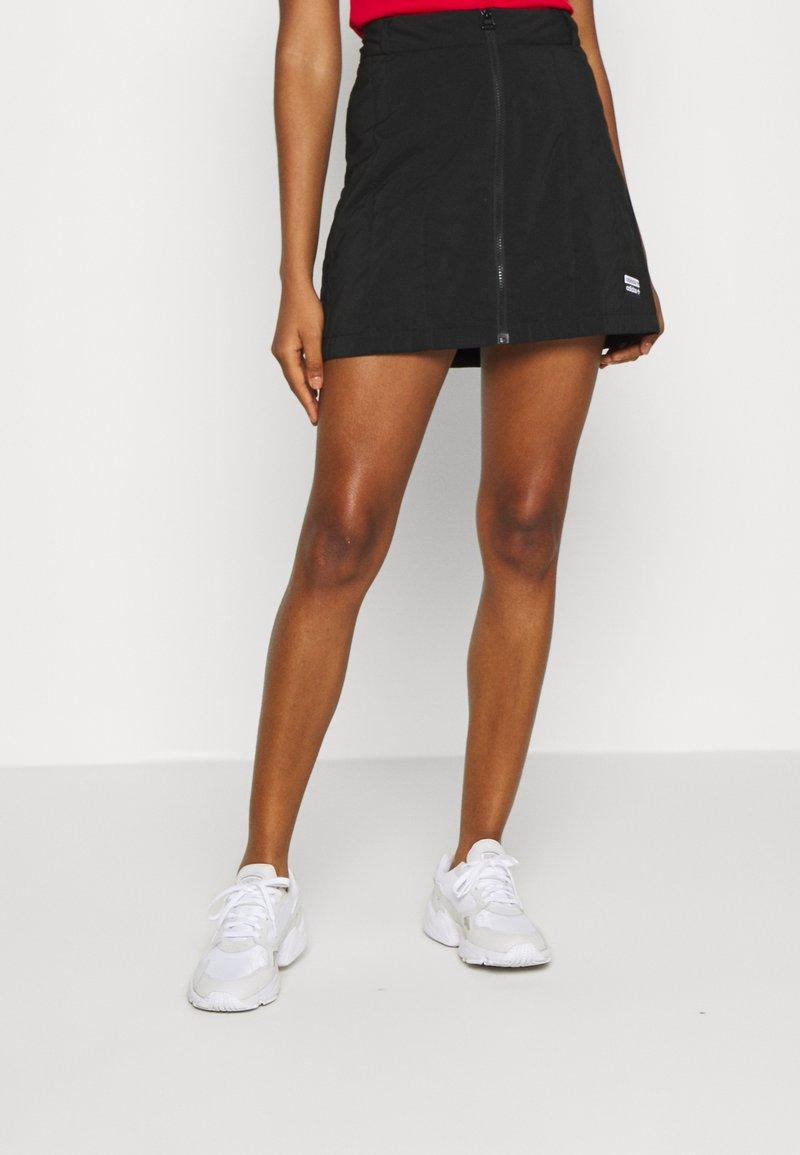 adidas Originals - SKIRT - Mini skirt - black