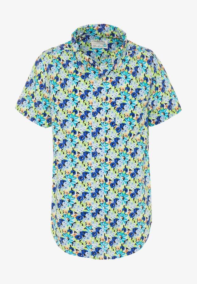 FLORAL - Camisa - blue/multicolor
