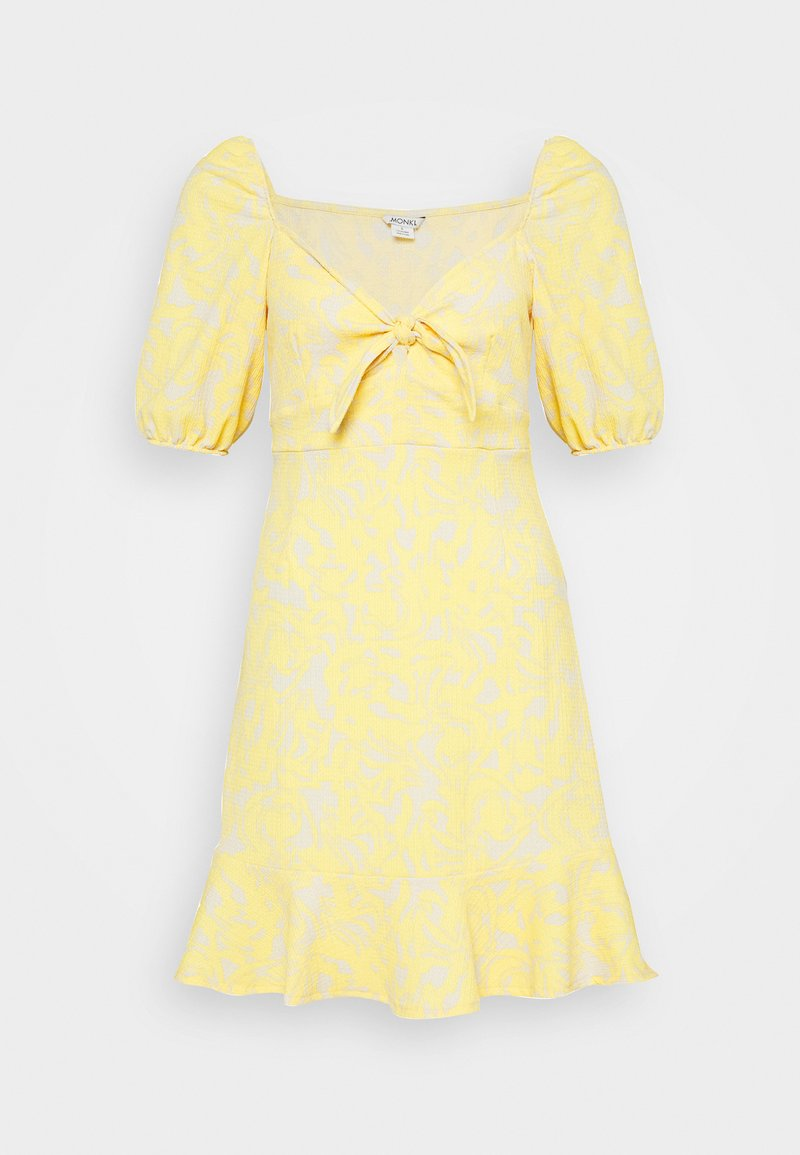Monki - MAYAN DRESS - Kjole - beige