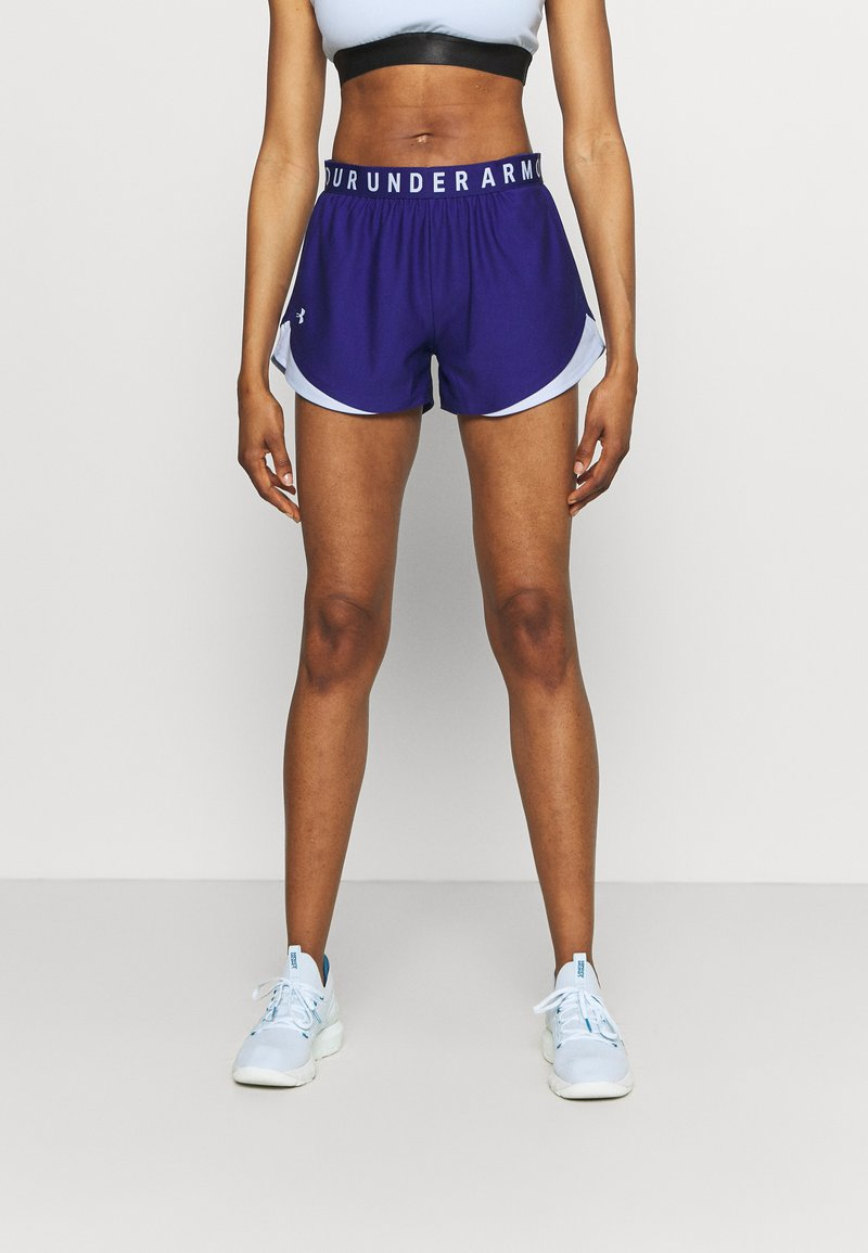 Under Armour - PLAY UP SHORTS 3.0 - Sports shorts - blue