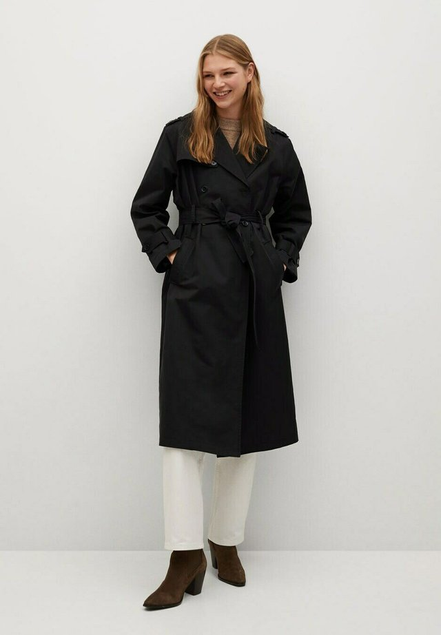 ANGELA-I - Trenchcoat - black