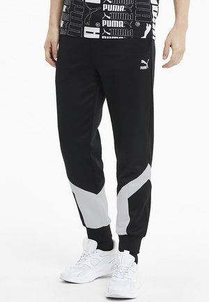 ICONIC MCS - Tracksuit bottoms - black