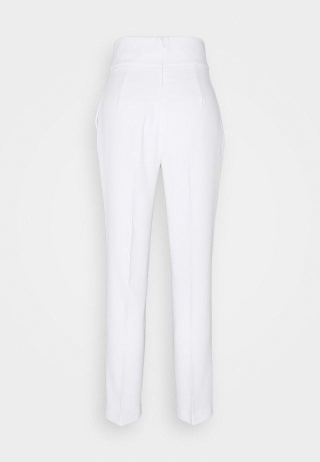 NATALIA TROUSERS - Pantaloni - white