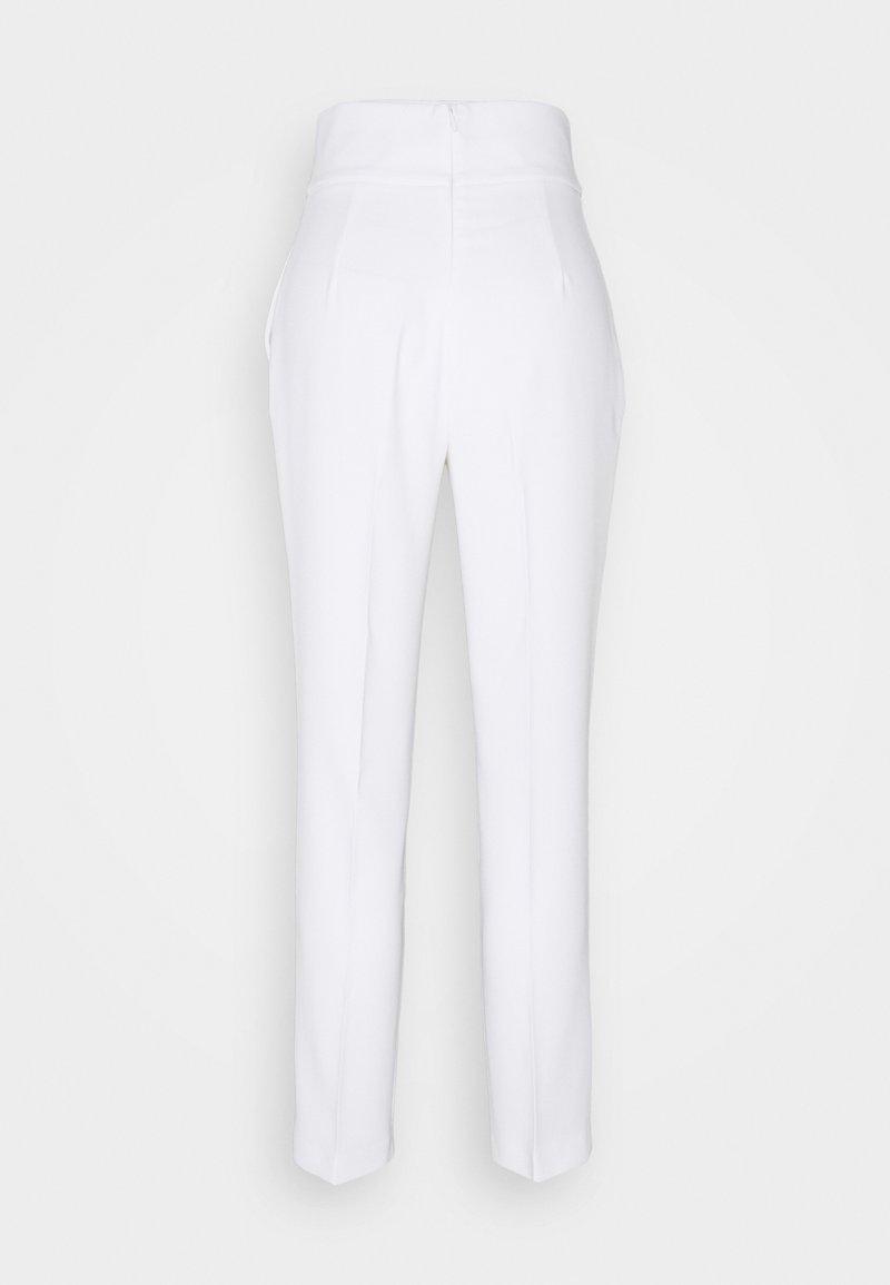 Pinko - NATALIA TROUSERS - Trousers - white