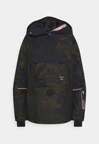 Superdry - FREESTYLE RESCUE OVERHEAD - Skijacke - dark green - 0