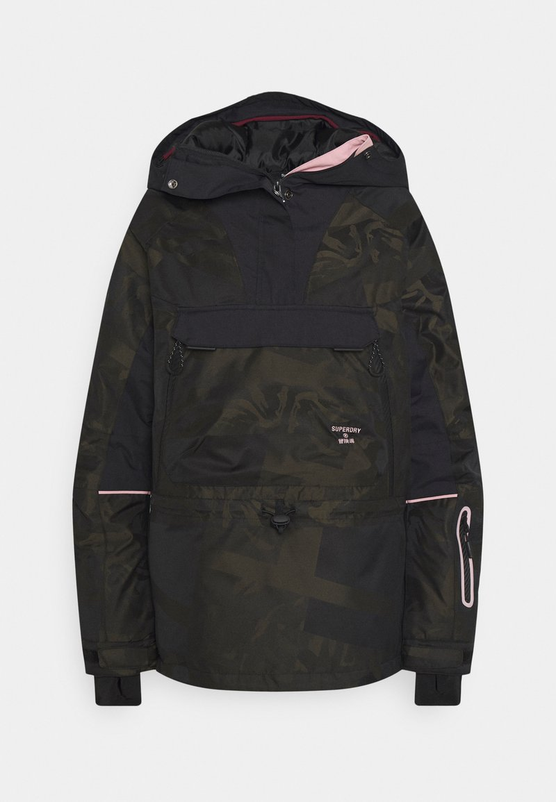 Superdry - FREESTYLE RESCUE OVERHEAD - Skijacke - dark green