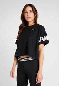 Puma - MODERN SPORT TEE - T-Shirt print - black - 0