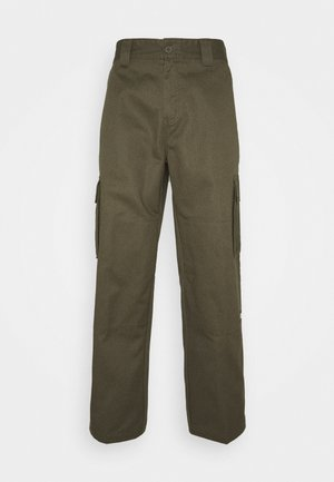 URBAN UTILITY - Cargo trousers - moss green