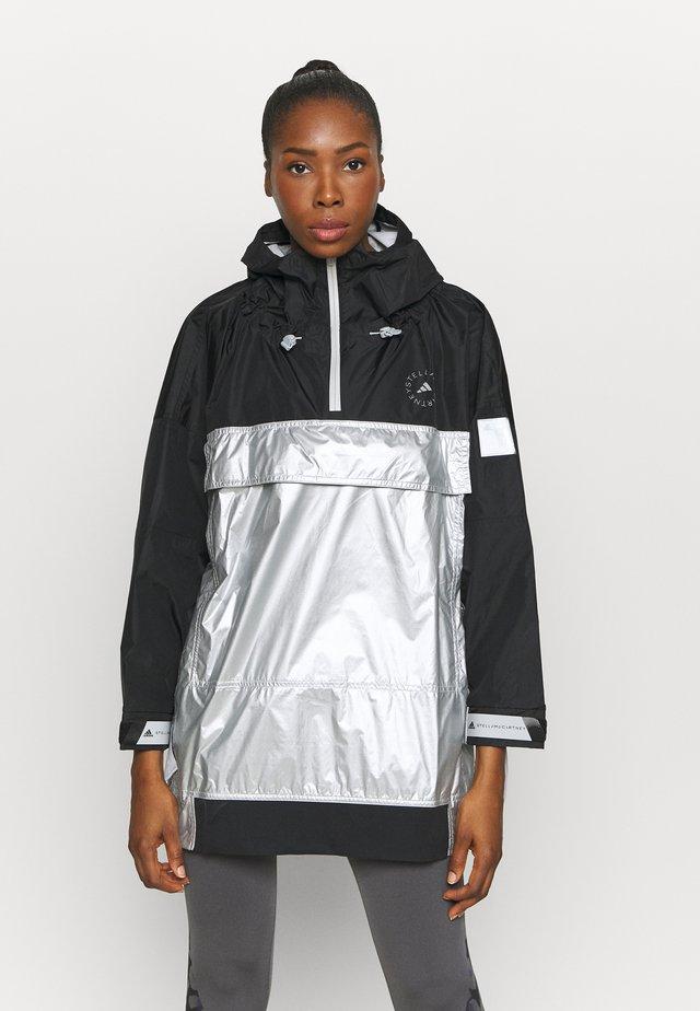 PULLON - Sportovní bunda - black/metallic silver