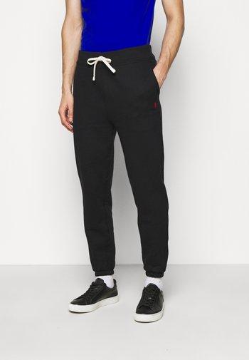 THE CABIN FLEECE PANT - Pantaloni sportivi - polo black