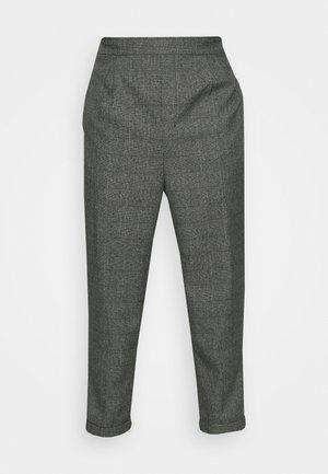 CASUAL CHECK TROUSER - Pantalon classique - black