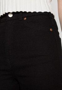 Dr.Denim - MOXY STRAIGHT - Straight leg jeans - solid black - 4