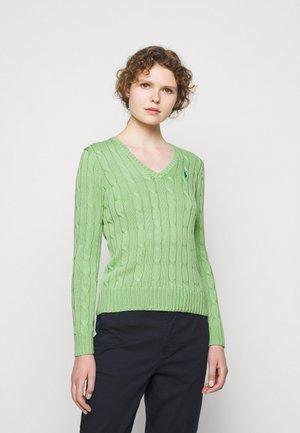 CLASSIC - Svetr - bud green