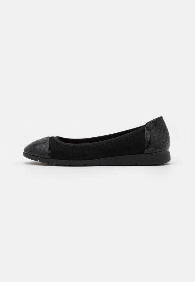 COMFORT  - Ballet pumps - black