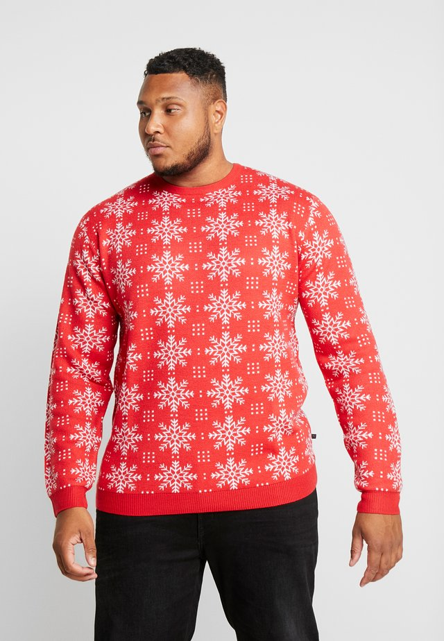 XMAS ICEFLOWER - Maglione - red