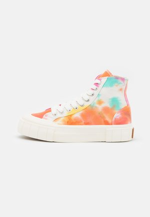PALM OMBRE UNISEX - High-top trainers - orange