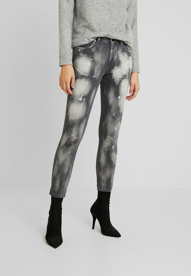 ACID LOVECHILD - Jeans Skinny Fit - black