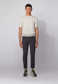 BOSS - DELAWARE - Jeans slim fit - black - 1