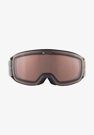 NAKSIKA QH - Masque de ski - black-grey