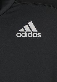 adidas Performance - 1/2 ZIP - Camiseta de manga larga - black - 2