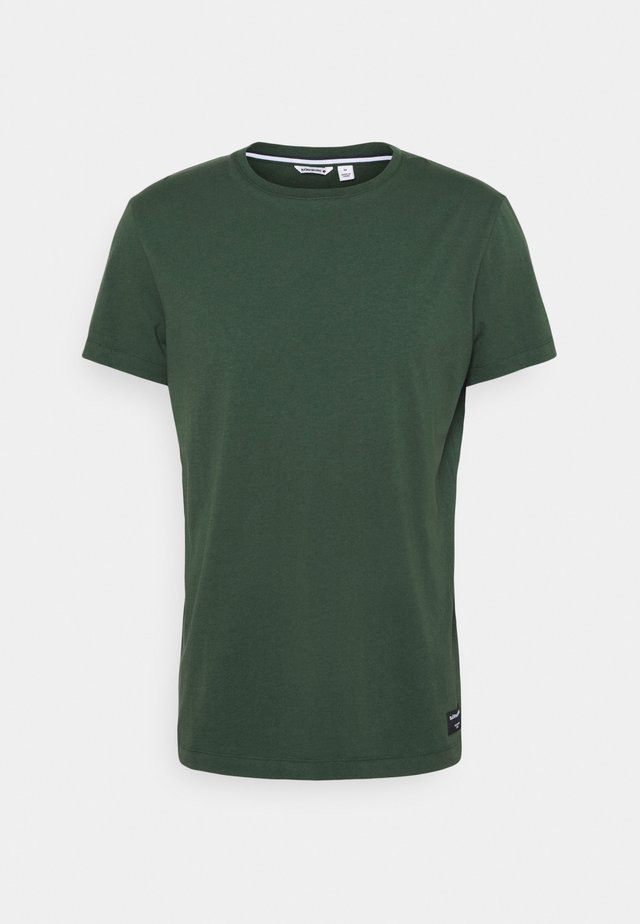 CENTRE TEE - T-shirt sportiva - sycamore